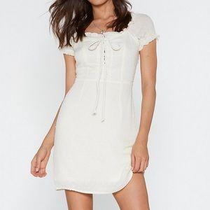 Pretty white dress